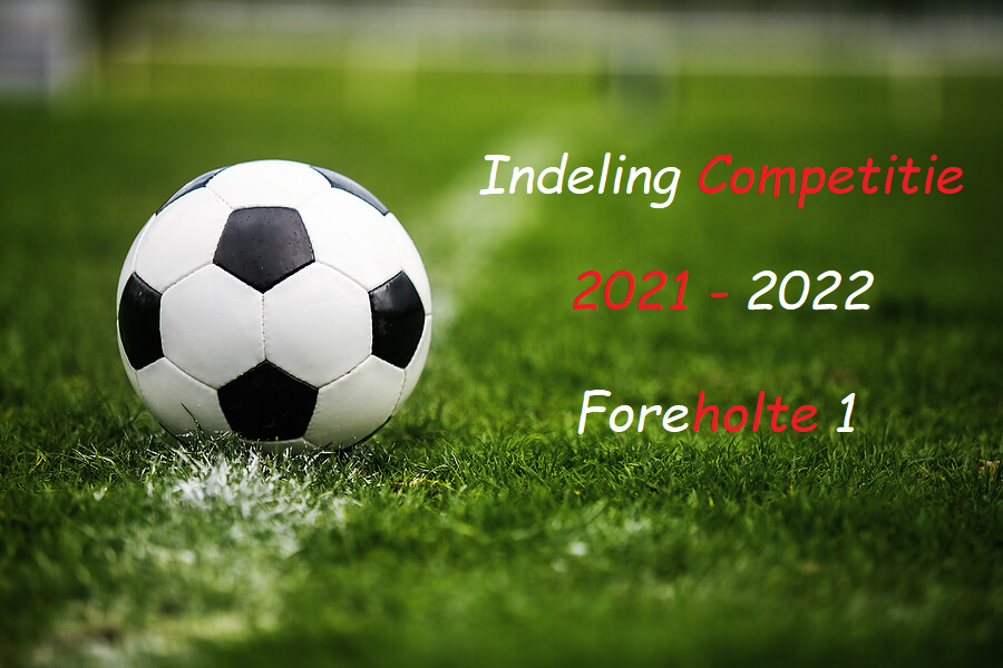 Competitie indeling Foreholte 1